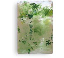 Flores Colgantes Canvas Print