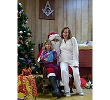 Alki Lodge Santa 2330 Photographic Print