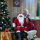 Alki Lodge Santa 2332 by Kristin Bennett