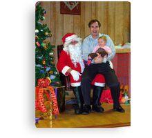 Alki Lodge Santa 2336 Canvas Print