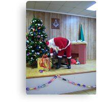 Alki Lodge Santa 2337 Canvas Print