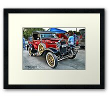 Classic Auto Series # 20 Framed Print