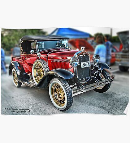 Classic Auto Series # 20 Poster