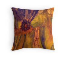 Rootet in Intuition  - series Throw Pillow
