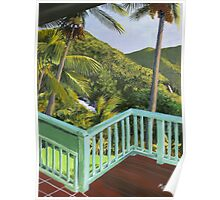 """ El Yungue "" Caribbean National Rainforest, Puerto Rico Poster"