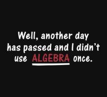 Algebra Once Funny T-Shirt Tee / Hoodie by maikel38