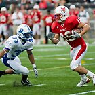 Run! - Marist College Football by rjhphoto