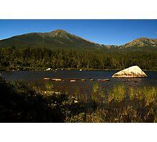 Mt. Katahdin from Sandy Stream Pond Photographic Print