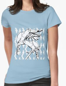 Jungle Toucans- Black & White Womens Fitted T-Shirt