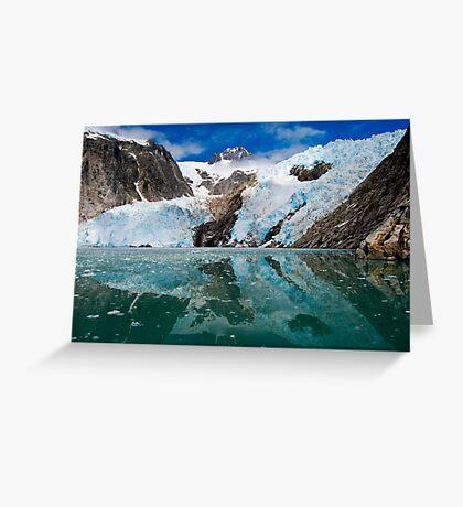 Northwestern Glacier Reflected Greeting Card
