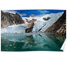 Northwestern Glacier Reflected Poster