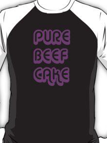Pure Beef Cake retro style T-Shirt