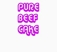 Pure Beef Cake retro style Womens Fitted T-Shirt