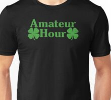 Amateur Hour Funny TShirt Epic T-shirt Humor Tees Cool Tee Unisex T-Shirt
