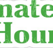 Amateur Hour Funny TShirt Epic T-shirt Humor Tees Cool Tee Sticker