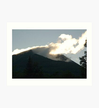Early Morning Mt. Katahdin Art Print