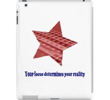 Reality Focus iPad Case/Skin