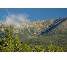 Close up of Mt. Katahdin Photographic Print