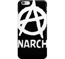 Anarchy Funny TShirt Epic T-shirt Humor Tees Cool Tee iPhone Case/Skin