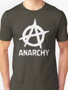Anarchy Funny TShirt Epic T-shirt Humor Tees Cool Tee T-Shirt