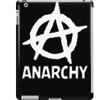 Anarchy Funny TShirt Epic T-shirt Humor Tees Cool Tee iPad Case/Skin