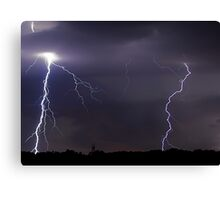 Double Header Canvas Print