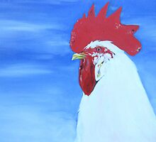 White Leghorn by Miles Histand