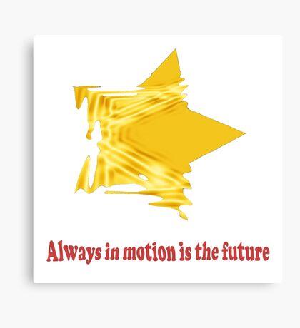 Future Motion Canvas Print