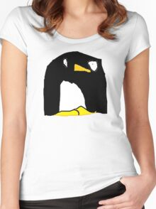 Dave the Penguin Women's Fitted Scoop T-Shirt