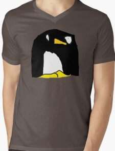 Dave the Penguin Mens V-Neck T-Shirt