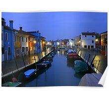 Italy - Venezia - Burano Poster