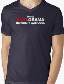 Anti Obama Cool Funny TShirt Epic T-shirt Humor Tees Cool Tee Mens V-Neck T-Shirt