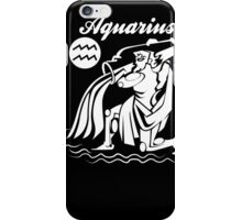 Aquarius Funny TShirt Epic T-shirt Humor Tees Cool Tee iPhone Case/Skin