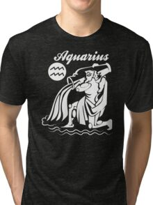 Aquarius Funny TShirt Epic T-shirt Humor Tees Cool Tee Tri-blend T-Shirt