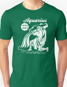 Aquarius Funny TShirt Epic T-shirt Humor Tees Cool Tee Unisex T-Shirt