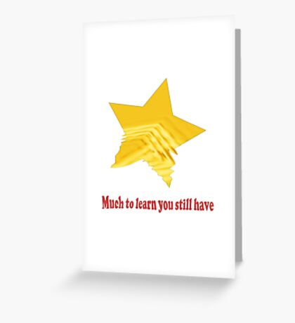Learn Have Greeting Card
