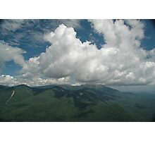 View from Double Top Mountain Photographic Print