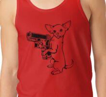 Armed Chihuahua Funny TShirt Epic T-shirt Humor Tees Cool Tee Tank Top