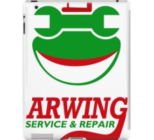 Arwing Service and Repair Funny TShirt Epic T-shirt Humor Tees Cool Tee iPad Case/Skin