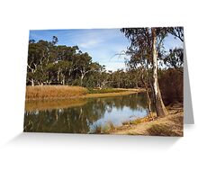 Edward River at Deniliquin Greeting Card