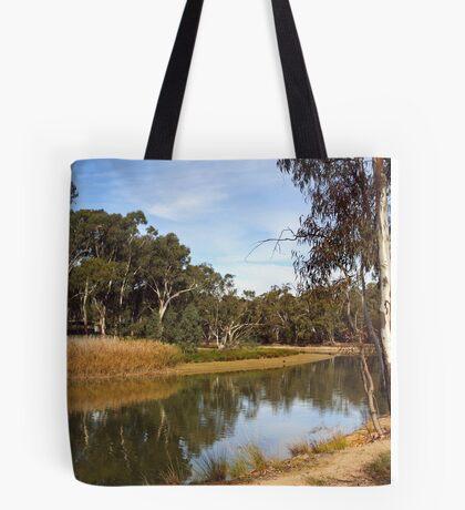 Edward River at Deniliquin Tote Bag