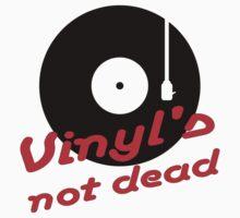 Vinyl not dead Kids Clothes