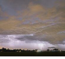 Diagonal Lightning Strikes by Bo Insogna
