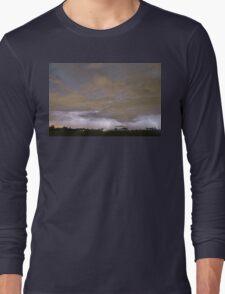 Diagonal Lightning Strikes Long Sleeve T-Shirt