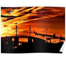 westgate sunset Poster