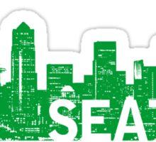 Seattle the Emerald City Sticker