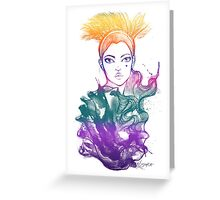 Anahita Colours Greeting Card