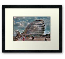 City Hall: London. Framed Print