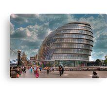 City Hall: London. Canvas Print