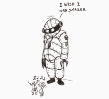 I wish  I was smaller by MrLone